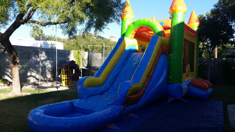 Castle 4 in 1 Water Slide