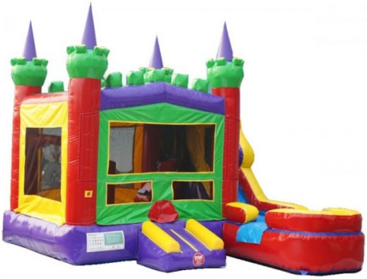 King Castle With Water Slide